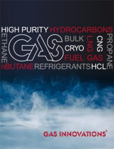 Gas Innovations 2018 Catalog Cover