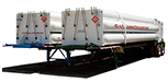 High Pressure Tube Trailers
