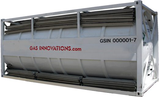 Portable Cryogenic ISO Container