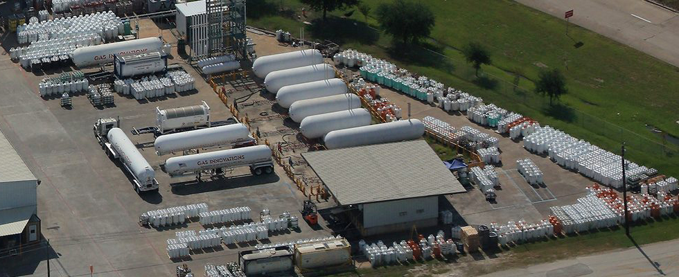 GI's hydrocarbon purification plant, La Porte Tx